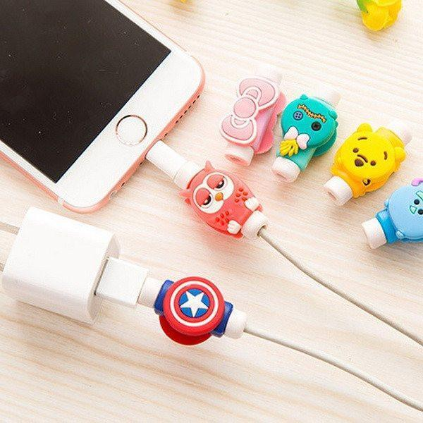 IPhone, Apple, Cute, Cable, Protector, Hello Kitty,Captain America