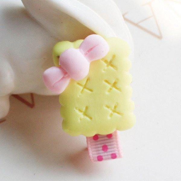 Cute Hair Clips Baby Kid Cookie Candy Lollipop
