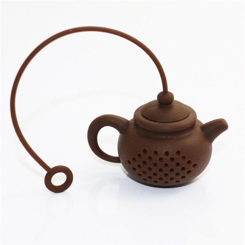 Infuser strainer Silicone Cute Tea Filter Teapot