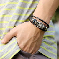 Men, Accessories, Bracelet, Leather, Nautical