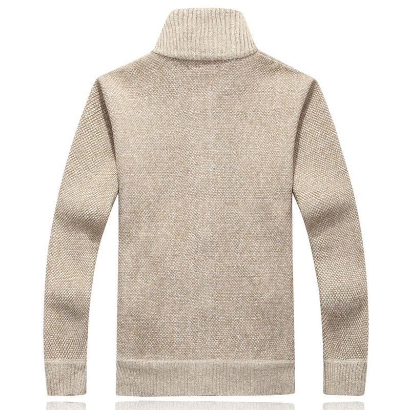 Japanese Style Wool Cardigan Sweater