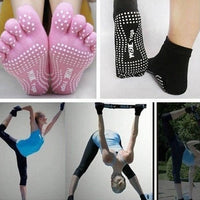 Yoga Workout Sticky Socks Pilates Grip Apparel