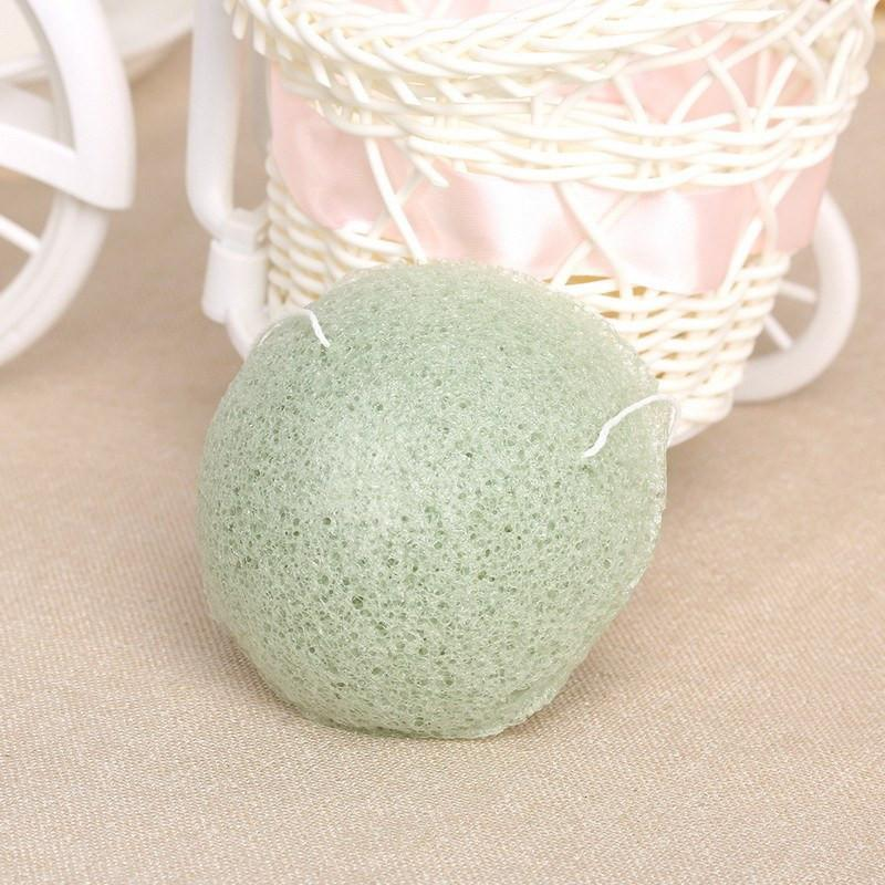 Wash Sponge Natural Konjac Face Acne cleans