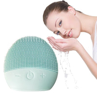 Vibration Silicon Material_Silicon Massage Holiday Gift Face wash Cleanse Brush Best Anti-aging Anti wrinkle