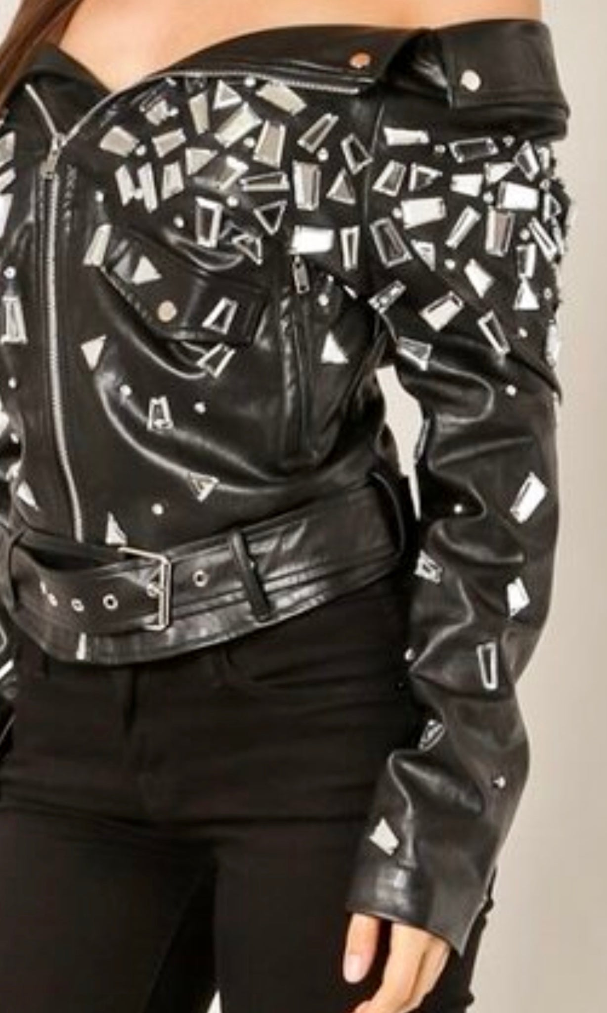 Rock And Roll Moto Jacket