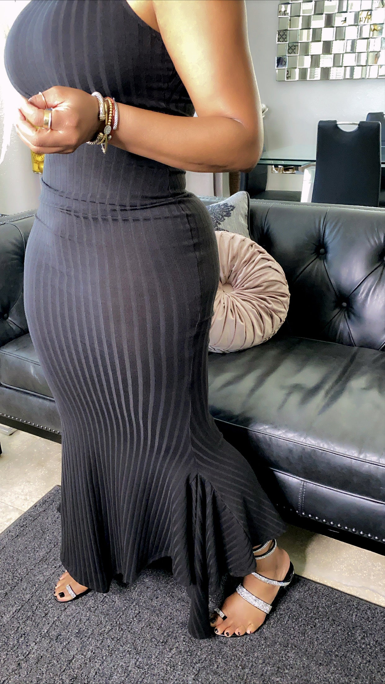 Ribbed Tank Maxi Dress