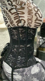 Black Lace Me Up Corset