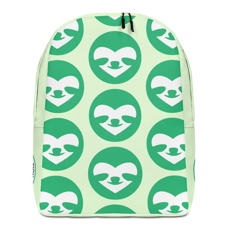 Minimalist Backpack SloCo Face