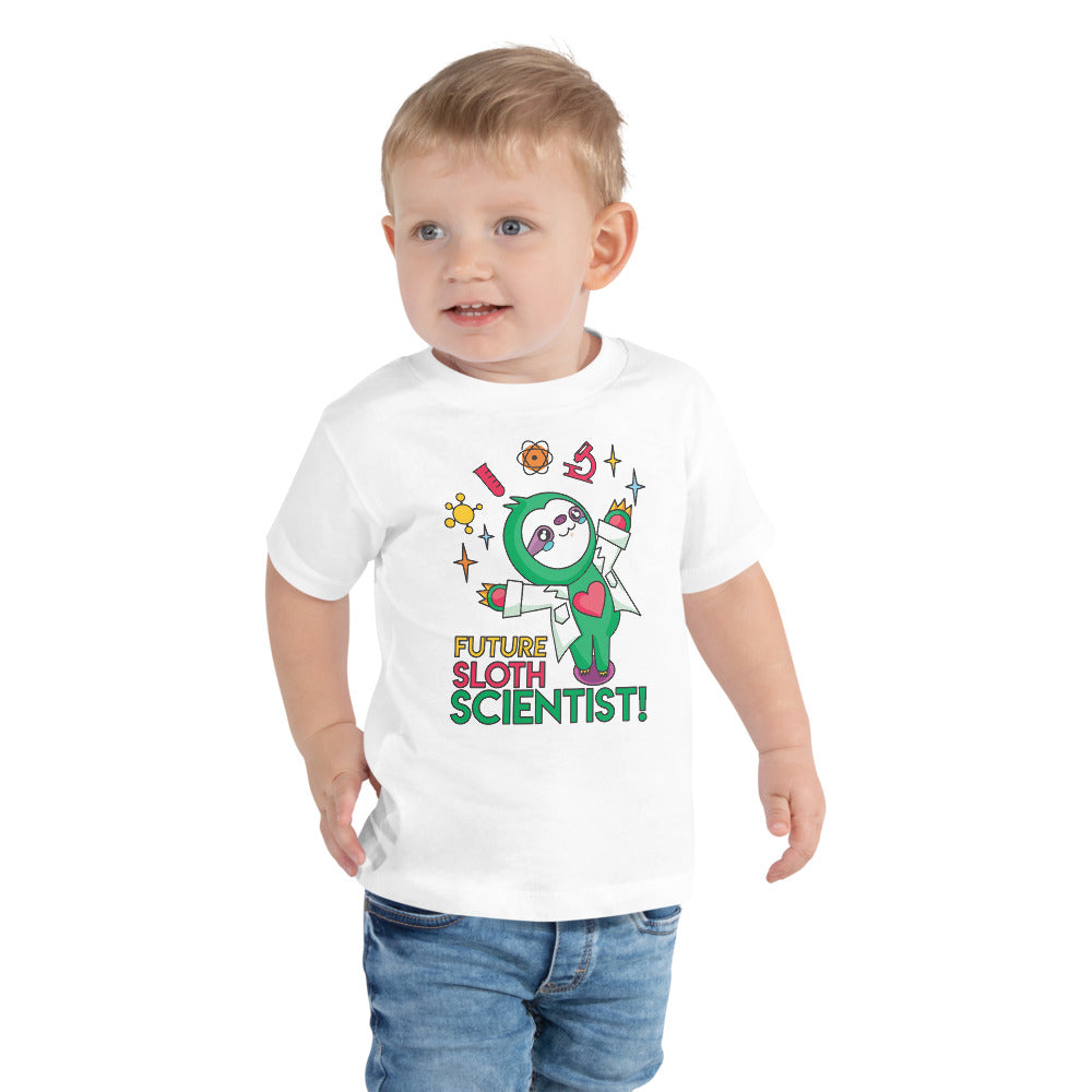 Future Sloth Scientist Toddler t-shirt