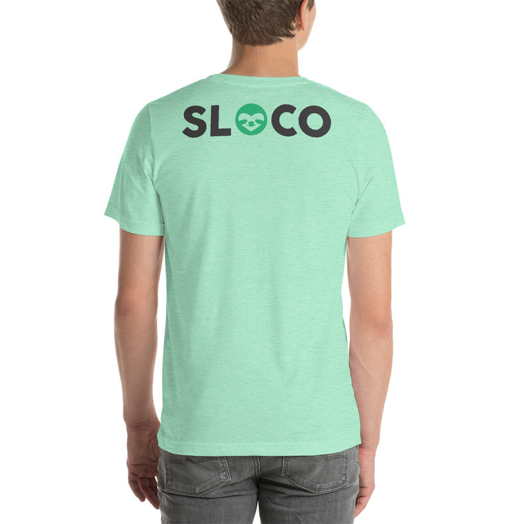 SloCo pocket logo + back print Men T-Shirt