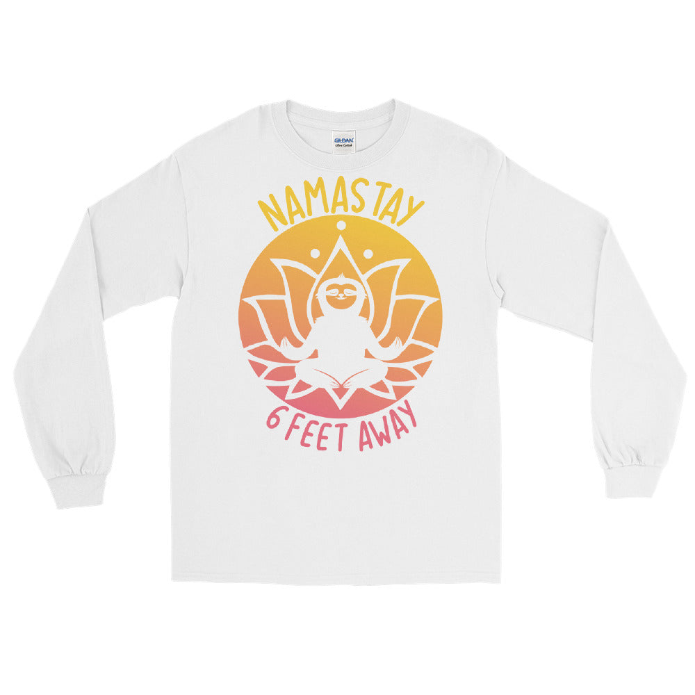 Namastay (Sunset) Men's Long Sleeve Shirt