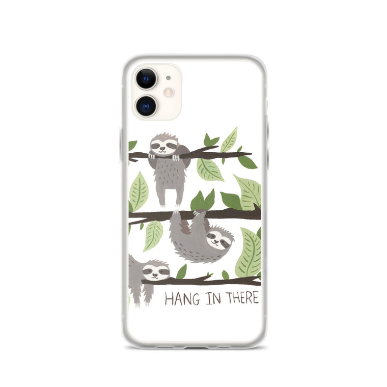 iPhone Case Watercolor Hang in There