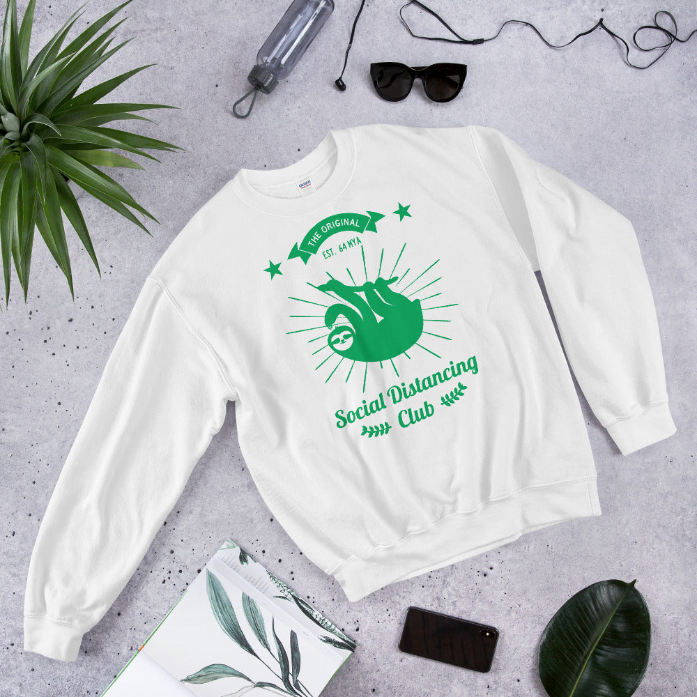 Social Distancing Club Sweatshirt