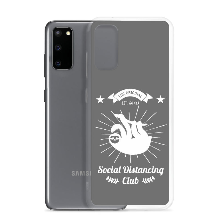 Samsung Case Social Distancing (White print)