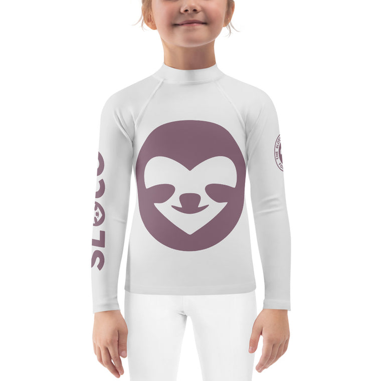 Kids Rash Guard SloCo Logo Grimson