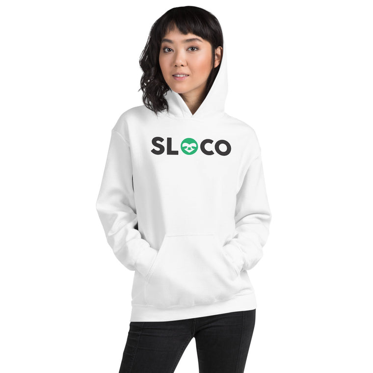 SloCo front+back logo Women  Hoodie