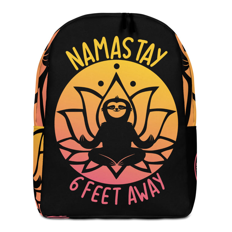 Minimalist Backpack Namastay Sunset