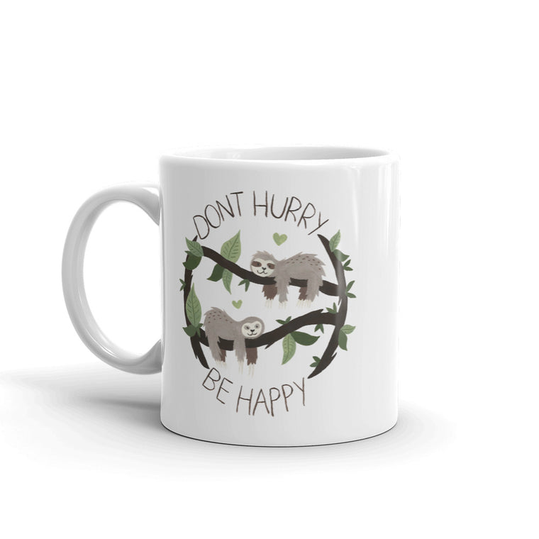 Watercolor Don´t Hurry Mug