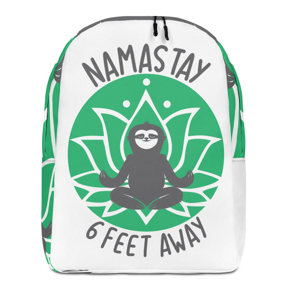 Minimalist Backpack Namastay Green