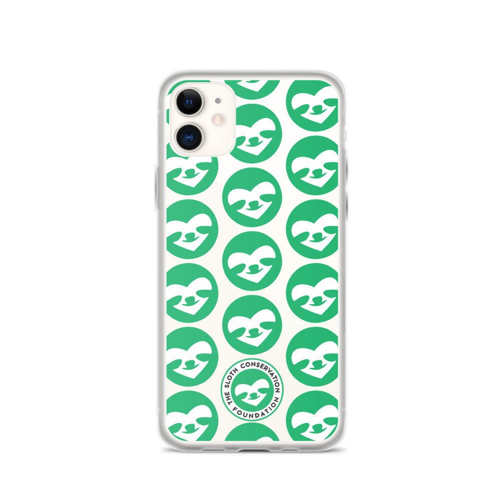 iPhone Case SloCo Face Pattern