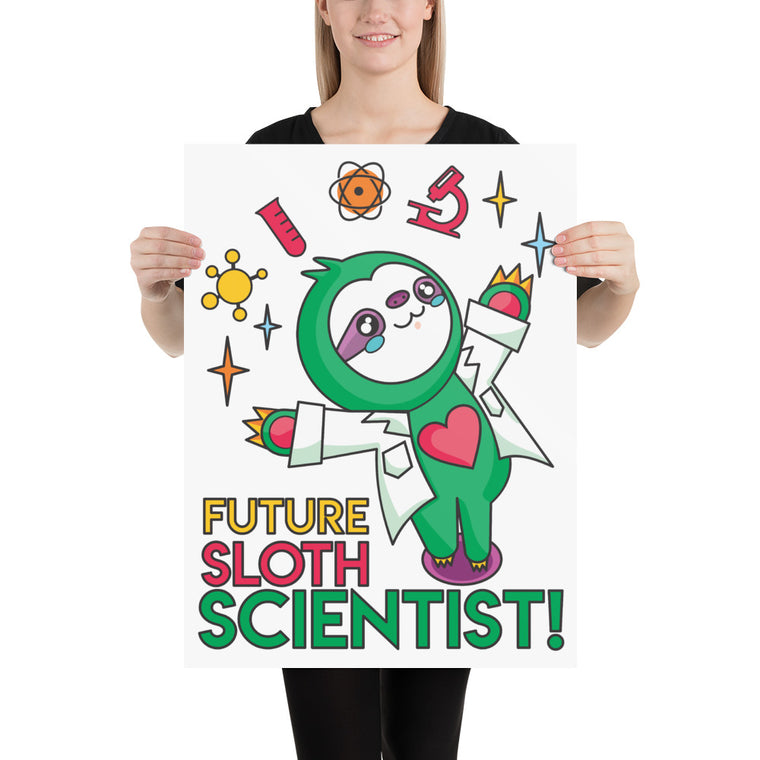 Poster Future Sloth Scientist