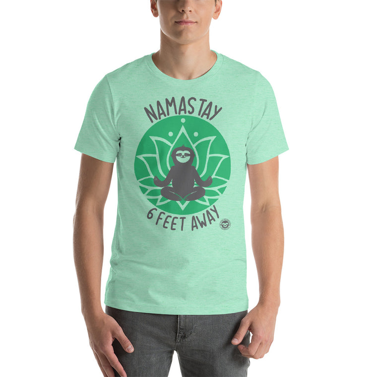 Namastay Green print Men T-Shirt