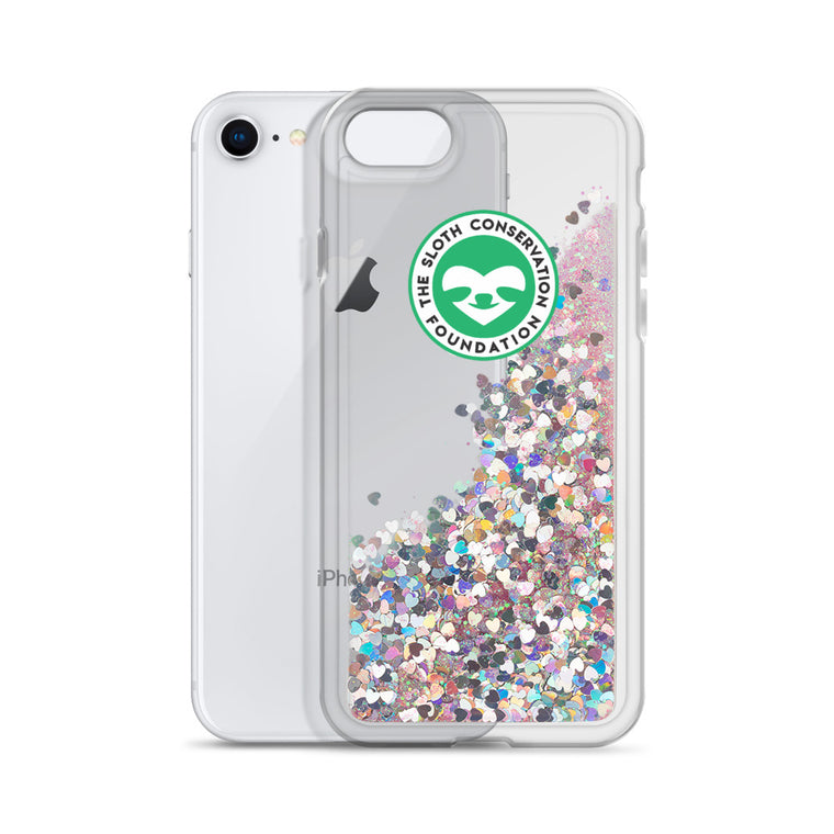 Liquid Glitter SloCo logo Phone Case