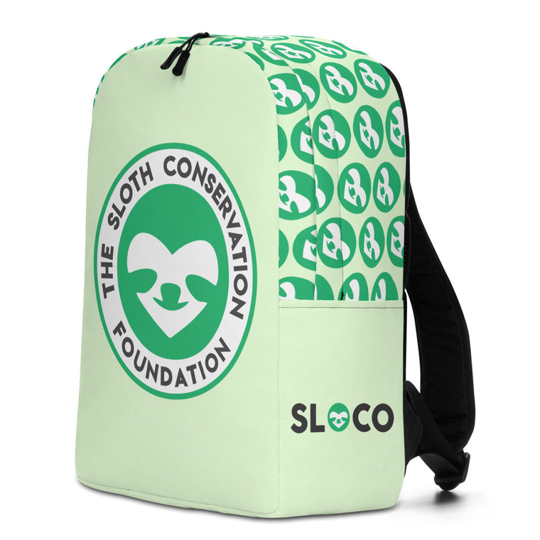 Minimalist Backpack SloCo Logo
