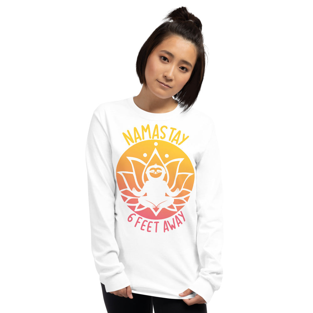 Namastay Sunset women's Long Sleeve Shirt