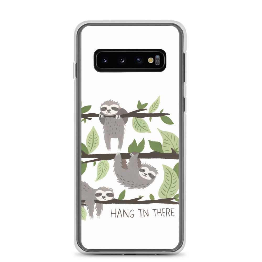 Samsung Case Watercolor Hang in There