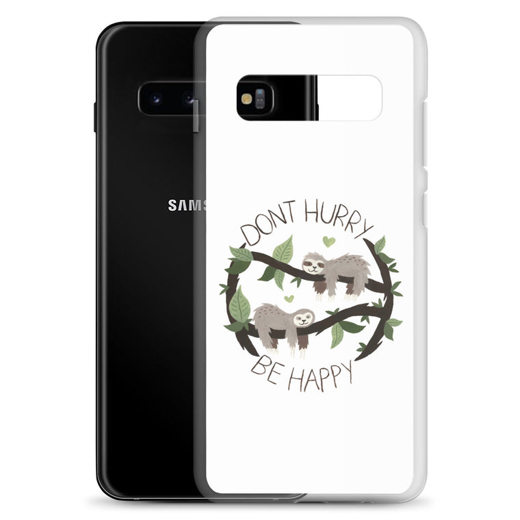 Samsung Case Watercolor Don´t hurry