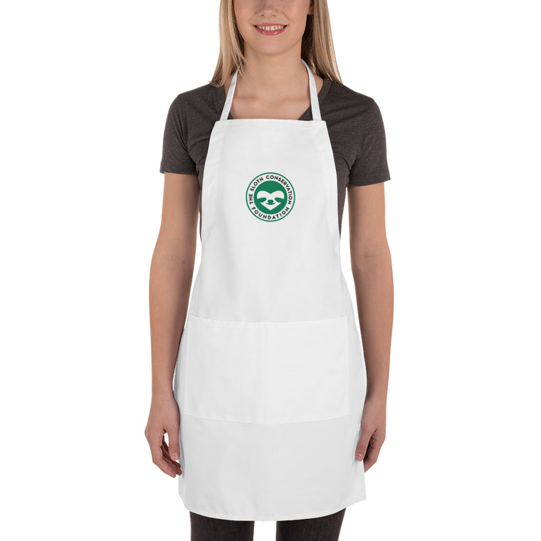 Embroidered Apron - SloCo logo