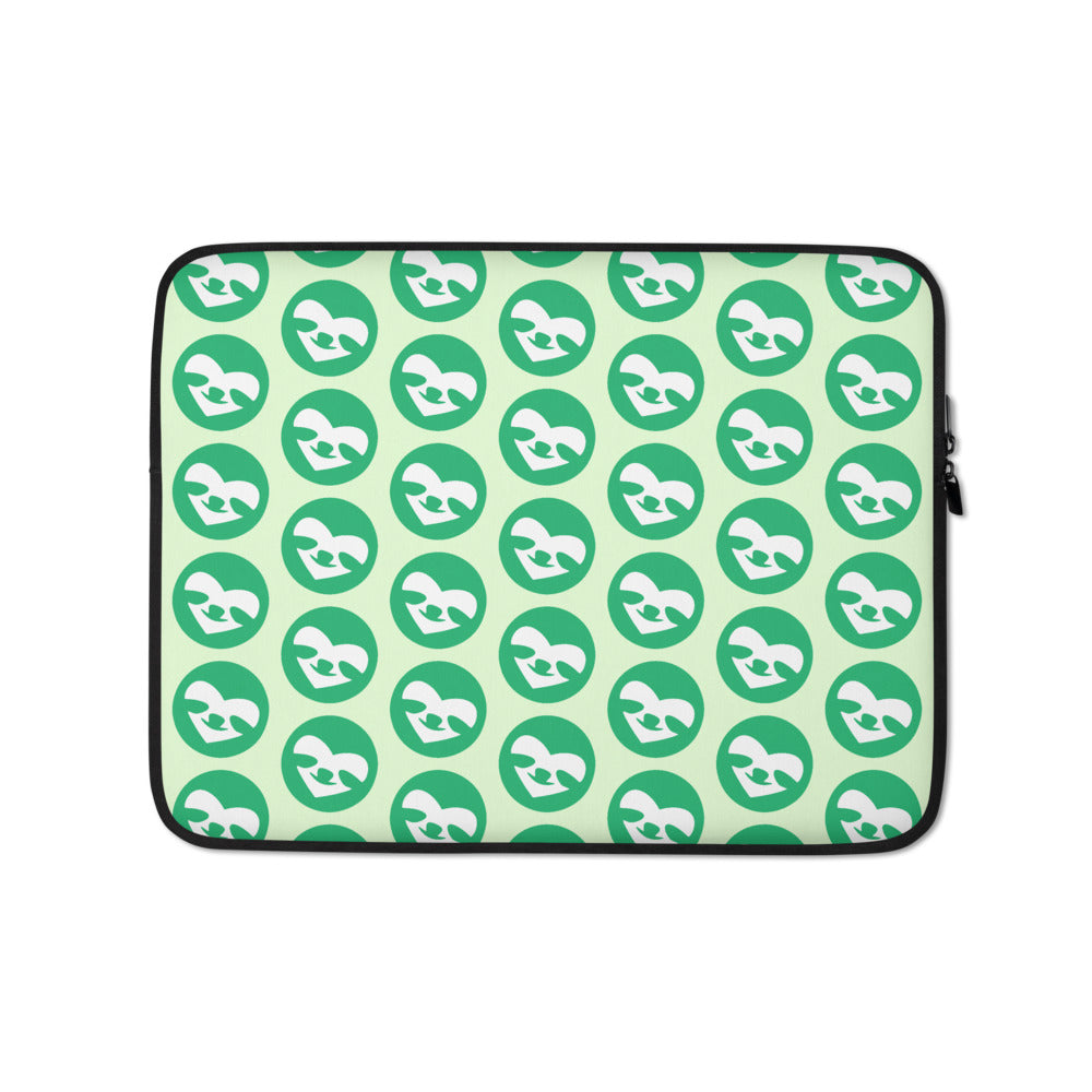 SloCo face Pattern Laptop Sleeve