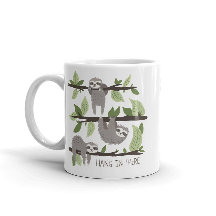 Watercolor Hang in There Mug