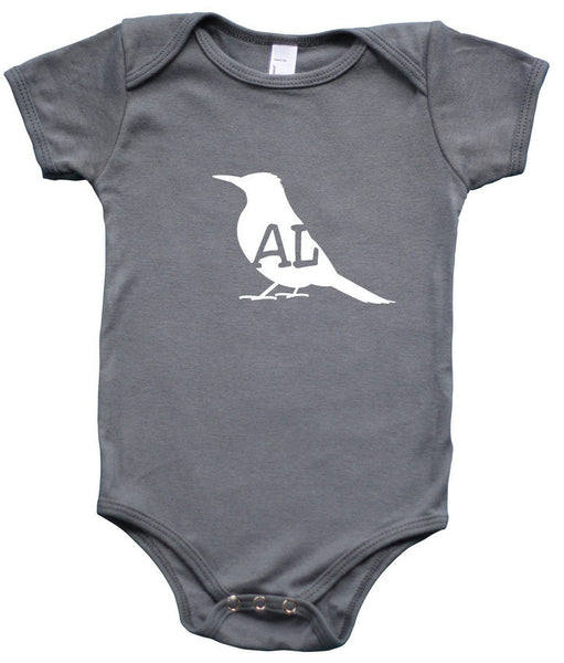 State Your Bird Alabama Baby Bodysuit