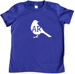 State Your Bird Arkansas Toddler T-shirt