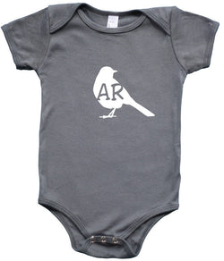 State Your Bird Arkansas Baby Bodysuit