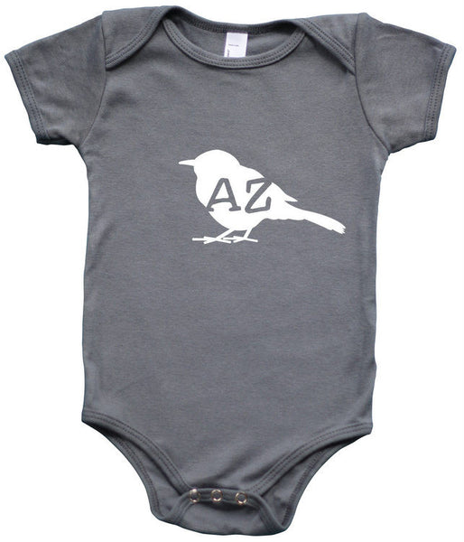 State Your Bird Arizona Baby Bodysuit