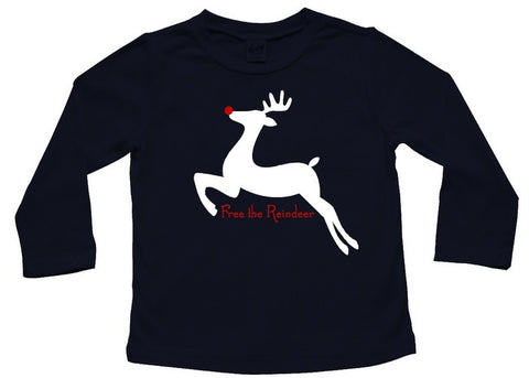 Free the Reindeer Baby and Toddler Shirt