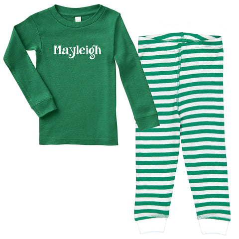 2019 Christmas Personalized Pajamas for Babies and Toddlers