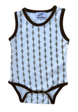 Sleeveless Bodysuit for Boys and Girls