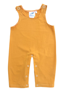 Gender Neutral Baby and Toddler Overalls - Mustard