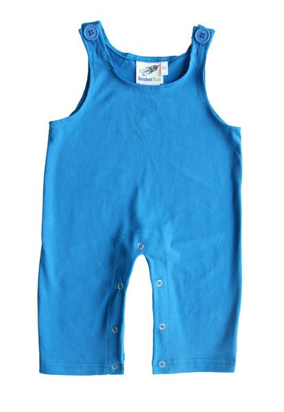 Gender Neutral Baby and Toddler Overalls - Royal Blue