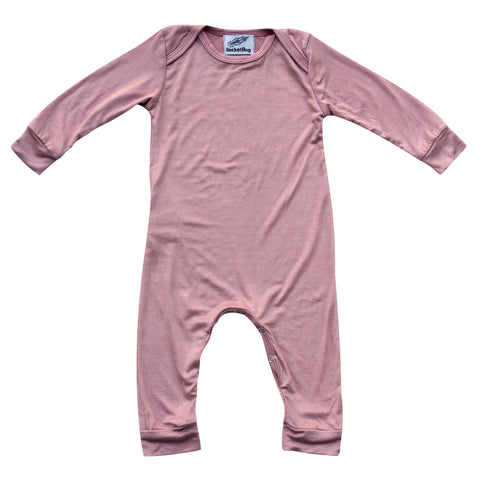 5779a4b782d7 Silky Long Sleeve Baby Romper for Boys and Girls – Rocket Bug