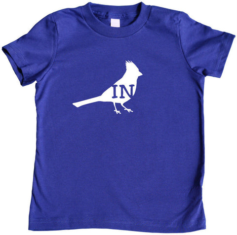 State Your Bird Indiana Toddler T-shirt