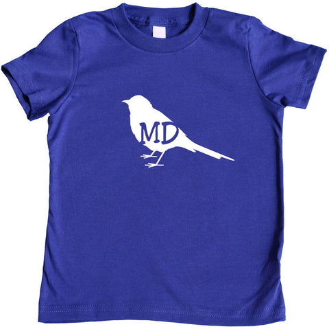 State Your Bird Maryland Toddler T-shirt