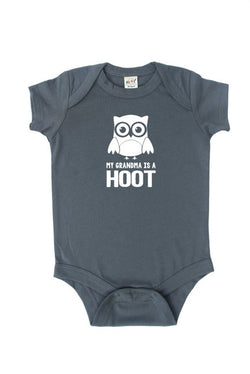 """My Grandma is a Hoot"" Baby Bodysuit"