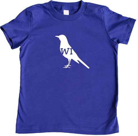 State Your Bird Wisconsin Toddler T-shirt
