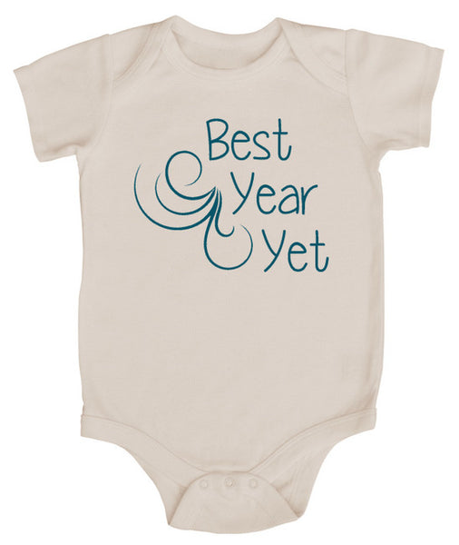 Best Year Yet Baby Bodysuit
