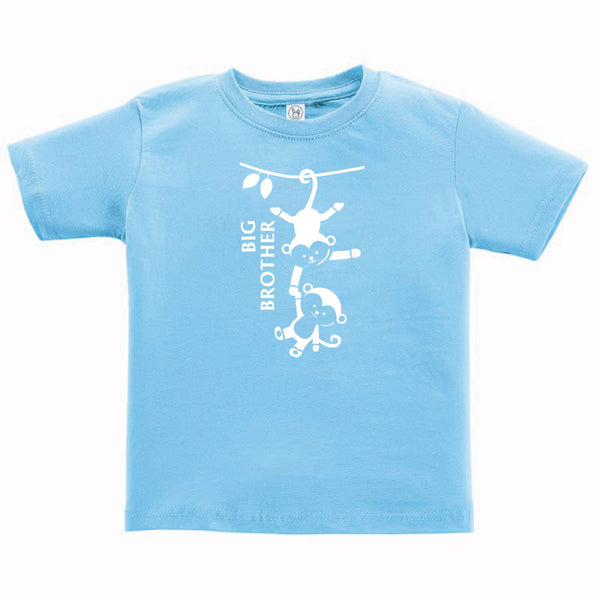 Big Brother Monkey Toddler and Child Shirt
